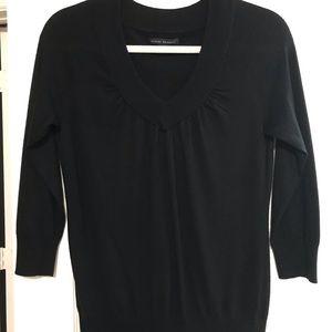 Banana Republic Black Silk blend sweater